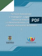 (UR-2009) Formacion Especializada en Inv., Juzgamiento y Sanción de Violaciones a los DDHH e Infracciones al DIH.
