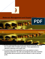 Materials Mgt n Supply Chain