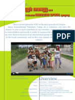 High Energy 2014 Short-term EVS, Hungary - Information Letter for Hungarians