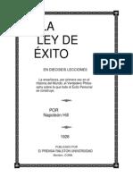 La Ley Del Exito-napoleon-hill.