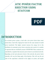 Automatic Power Factor Correction Using Statcom
