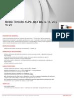 Media Tensión XLPE  tipo DS