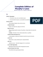 The Complete Edition of Murphy's Laws