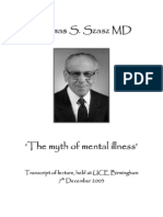 4664008 Thomas Szasz the Myth of Mental Illness