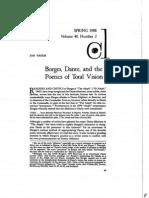 Borges Comparative Study, John Thiem