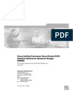 Cisco Unified Customer Voice Portal (CVP) Solution Reference Network Design