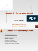 16. Concurrency Control