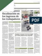 Sunat endurece fiscalización ingresos trabajadores_Gestión 17-03-2014