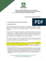 SALAZAR ARAUJO Rodolfo El Principio de Oportunidad y Los Acuerdos Reparatorios