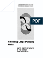 Bureau of Reclamation-Large Pumping Unts-EM40