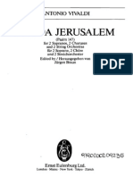 Vivaldi - Lauda Jerusalem RV609