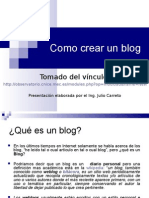 Tutorial de Blog