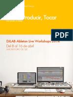 DJLAB Ableton Live 9 Workshops 2014