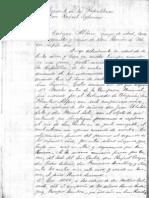 Carta de José Cabezas Alfaro, veterano de guerra, al presidente de la República (Costa Rica, 1895)
