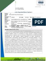 Seguridad Minera Basada en el Elemento Humano - Rodufbel Alvarado (2014)