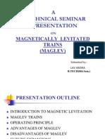 Magnetic Maglev