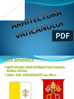 ARHITECTURA VATICANULUI