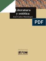 Literatura y estética, Mariátegui