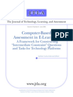 Computer - Based, Assessment in E-Learning