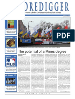 The Oredigger Issue 19 - March 19th, 2014
