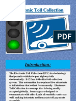 electronic toll system