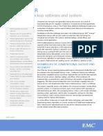 EMC AVAMAR Deduplication backup software and system