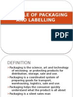 Role of Packaging