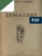 Riomaggiore (parziale), Telemaco Signorini, 1942 (con immagini aggiunte)