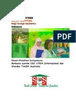 Proposal Pelatihan Asesor Kompetensi Fix . 2013