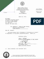 Scheeler v. State of NJ Office of the Governor, GRC Complaint No. 2014-67