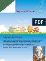 Les Pâques en France
