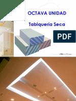 SEXTA UNIDAD - TABIQUERÍA SECA