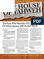 The Pope after Benedict XVI... of what likeness will he be? Part 3  - May 2013