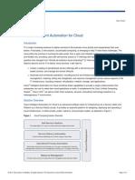 CIAC Cisco Intelligent Automation Cloud