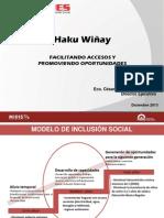 Proyecto Haku Winay FONCODES
