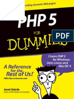 Janet Valade - PHP 5 for Dummies - 2004