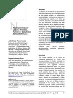 neuropsicología de lobulos frontales, funciones ejecutivas y conducta humana