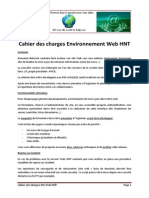 cahier des charges environnement web hnt v4