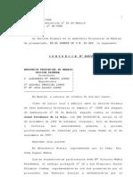 Sentencia Palomino