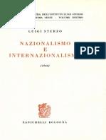 Vol.X - Nazionalismo e Internazionalismo (1946)