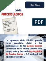 Guia Rapida Ley Precios Justos 2014(1)