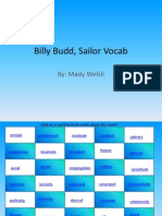 billy budd sailor vocab
