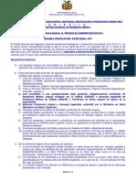 2da Conv Proceso Admision 2014
