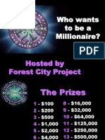 forest city project who wants to be a millionaire