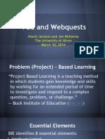 pbl and webquests