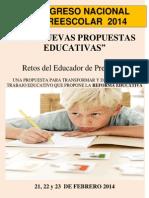 Programa Final Congreso Preescolar2014