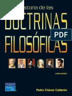 Pedro Chávez, Historia de las doctrinas filosóficas