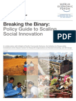 Policy Guide to Scaling Social Innovation