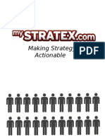 MyStratex.com - Making Strategy Actionable