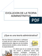 Evolucion de La Teoriaa Dministrativa
